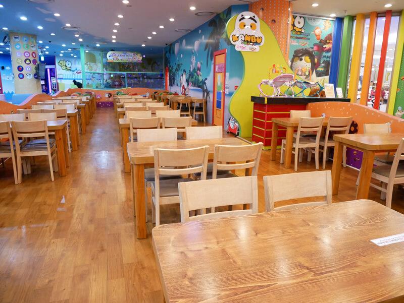 KAMBUキッズカフェの併設スペース