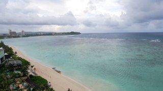 グアムビーチ風景