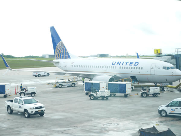 ユナイテッド航空機体