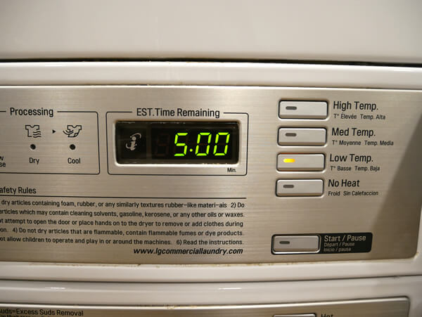 アウトリガーグアム 乾燥機
