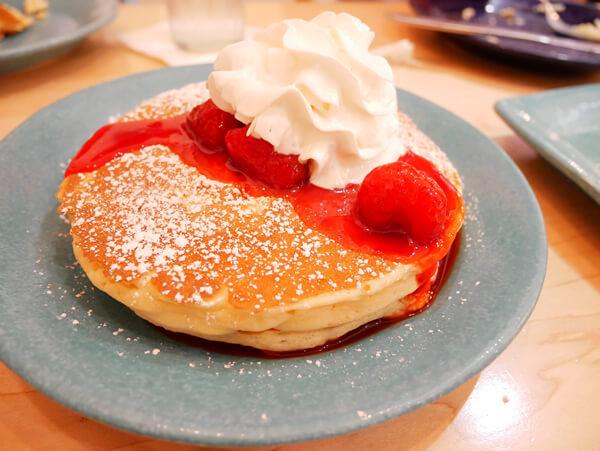 IHOPのパンケーキ
