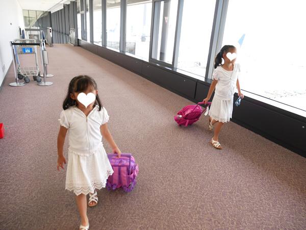成田空港到着!