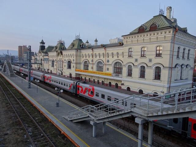ウラジオストク シベリア鉄道