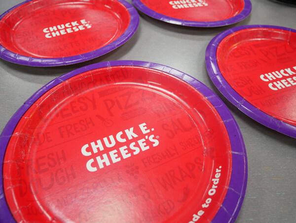 チャッキーチーズ 取り皿