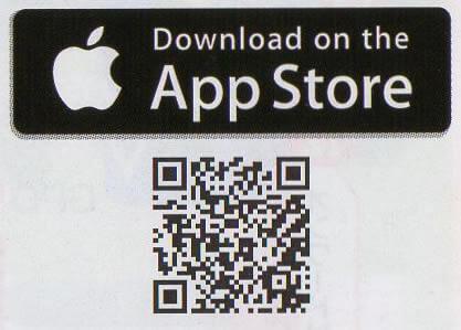 赤いシャトルバスQRコード(iPhone)