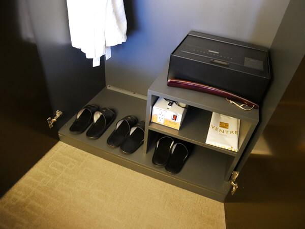 アベンツリーホテル釜山 クローゼット