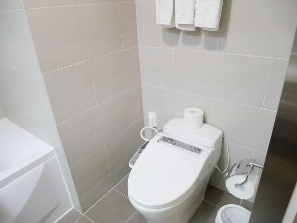 アベンツリーホテル釜山 トイレ