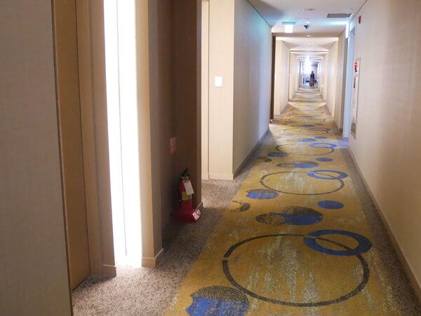 アベンツリーホテル釜山 廊下