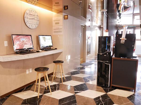 アベンツリーホテル釜山 インターネットコーナー