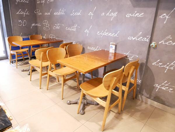 パリバケット カフェスペース