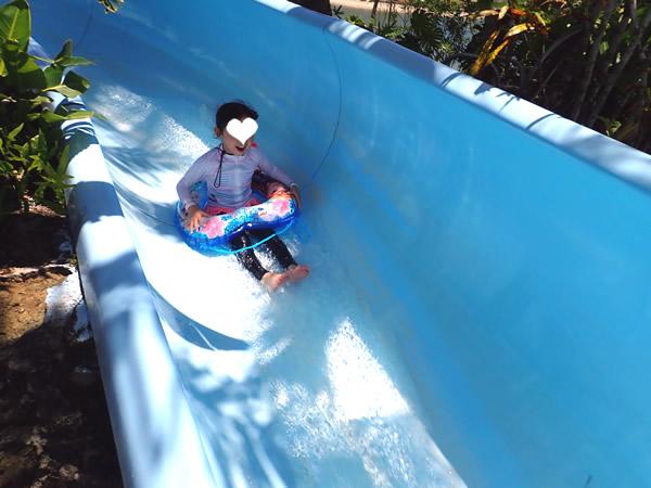レオパレスリゾートグアム プール スライダー