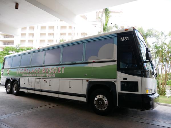 レオパレスリゾートグアム 無料シャトルバス