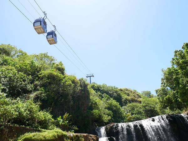 タロフォフォの滝