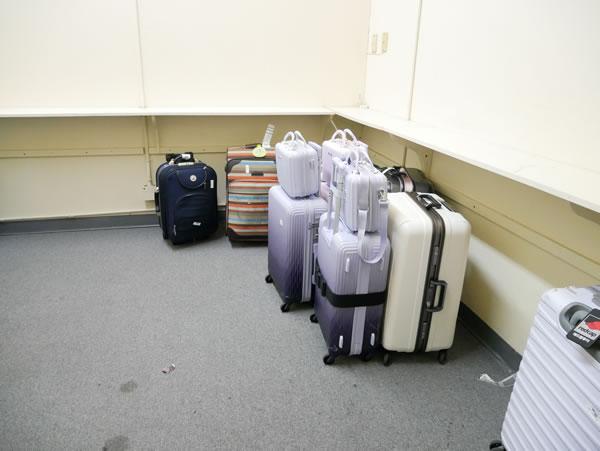 グアムプラザホテル スーツケース預け場所