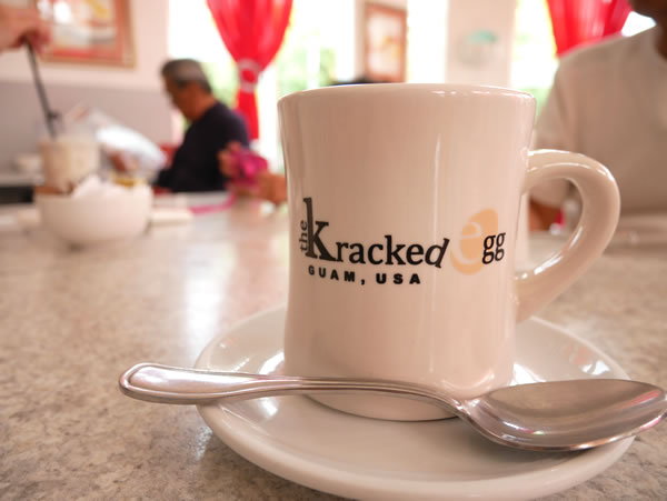 クラックドエッグ コーヒー