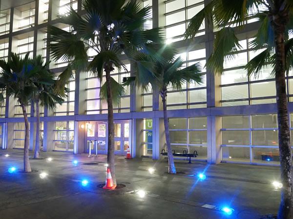グアム空港早朝