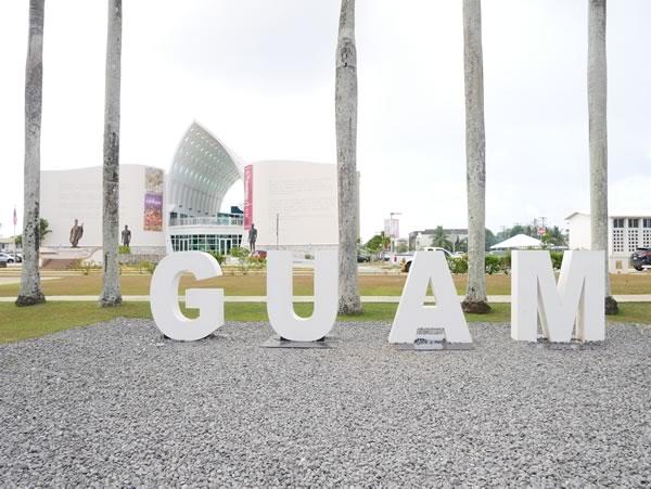 スペイン広場 GUAMモニュメント