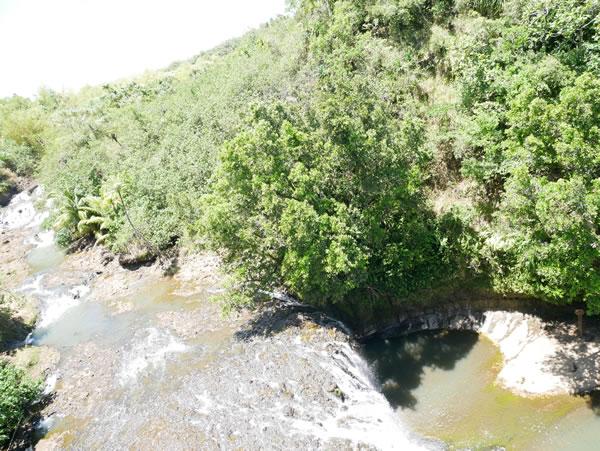 タロフォフォの滝 ケーブルカーからの景色
