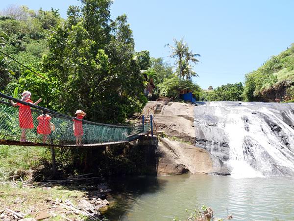 第二の滝 吊り橋