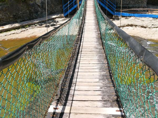 第一の滝 吊り橋