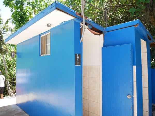 タロフォフォの滝公園トイレ