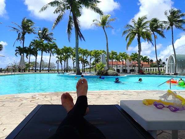 レオパレスリゾートグアムのプール/プールサイド
