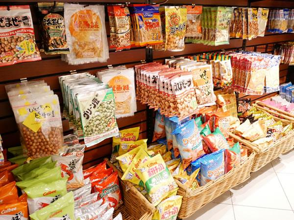 レオマートの日本のおつまみ