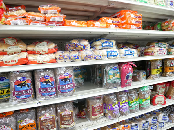 ペイレススーパーマーケットのパン類