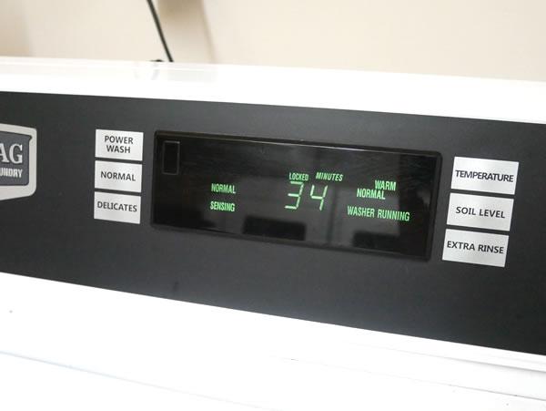レオパレスグアムの洗濯機