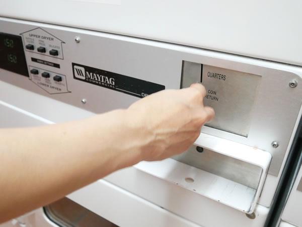 レオパレスグアム乾燥機