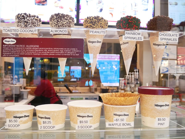 ハーゲンダッツのカップの種類