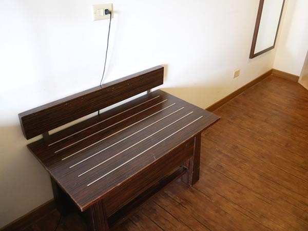 グアムプラザホテルの客室内荷物置き場