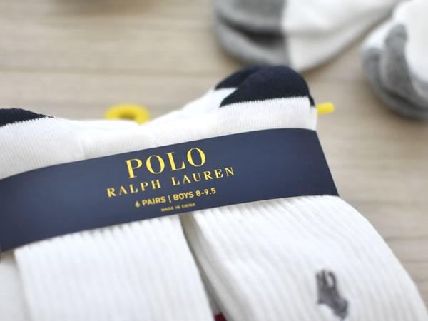 メイシーズで購入したラルフの靴下