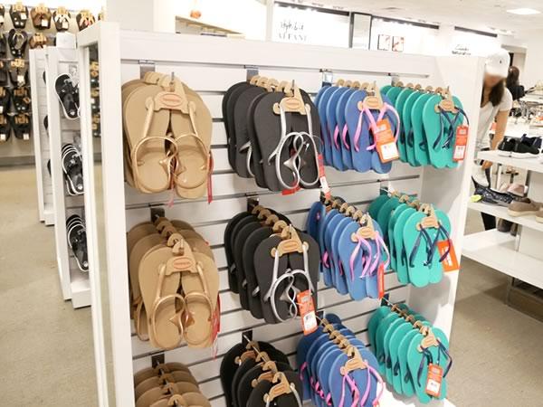 グアムメイシーズ靴ハワイアナス