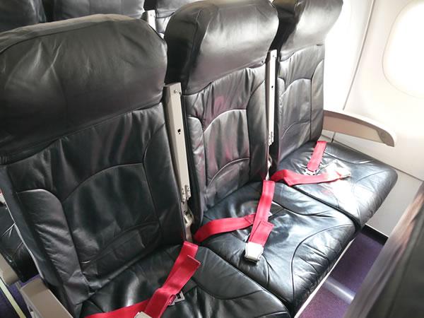 バニラエアJW151便機内