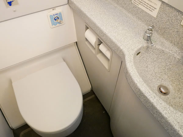 バニラエアJW151便機内トイレ