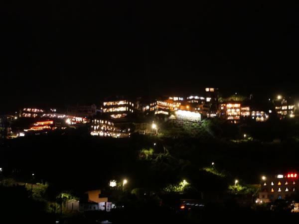 九份の夜景