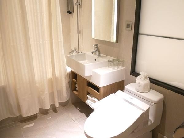 ロイヤルイン台北南西のバスルーム