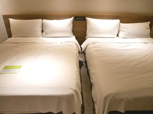 ロイヤルイン台北南西のベッド