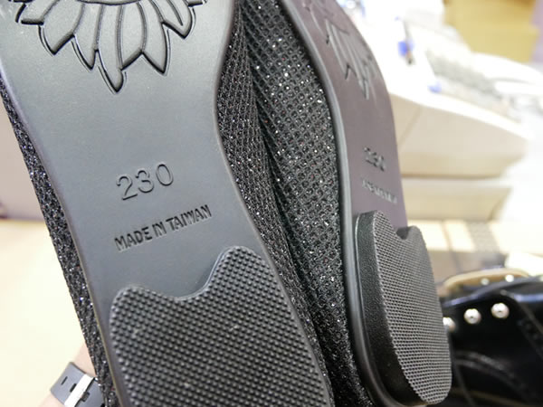 台湾の靴のサイズ