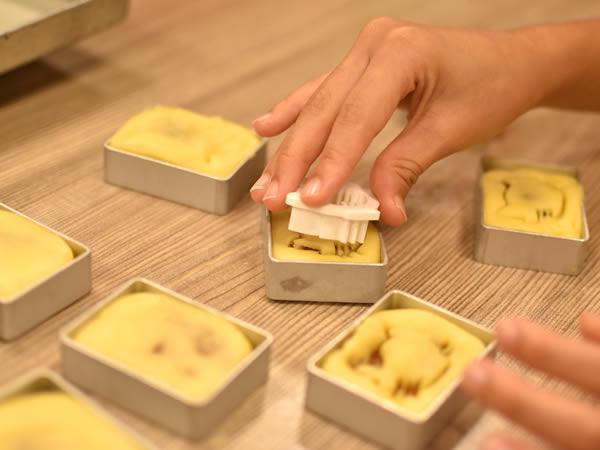 台湾パイナップルケーキ作り