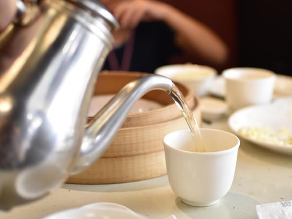 金品茶楼のお茶