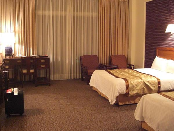圓山大飯店(グランドホテル)のお部屋