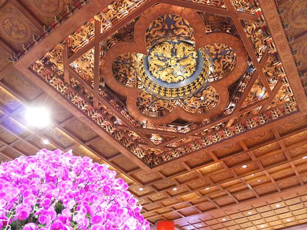 圓山大飯店(グランドホテル)の天井