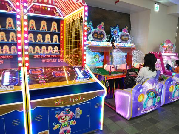 台北市児童新楽園のゲームセンター