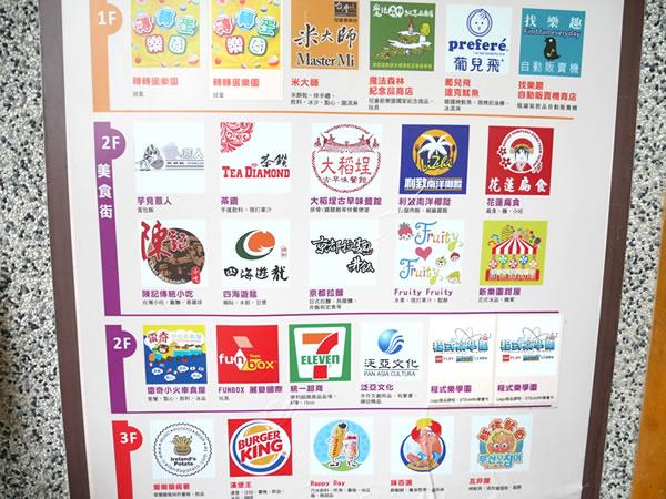 台北市児童新楽園のレストランなど
