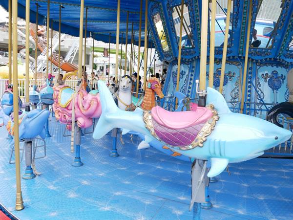 台北児童新楽園のメリーゴーランド