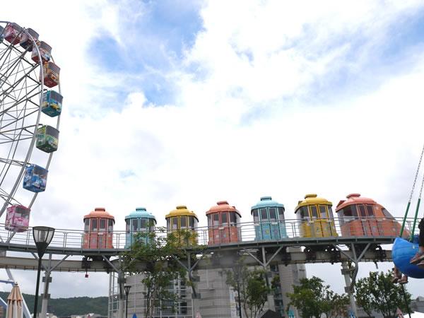 台北児童新楽園のモノレール