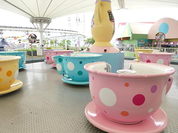 台北児童新楽園のコーヒーカップ